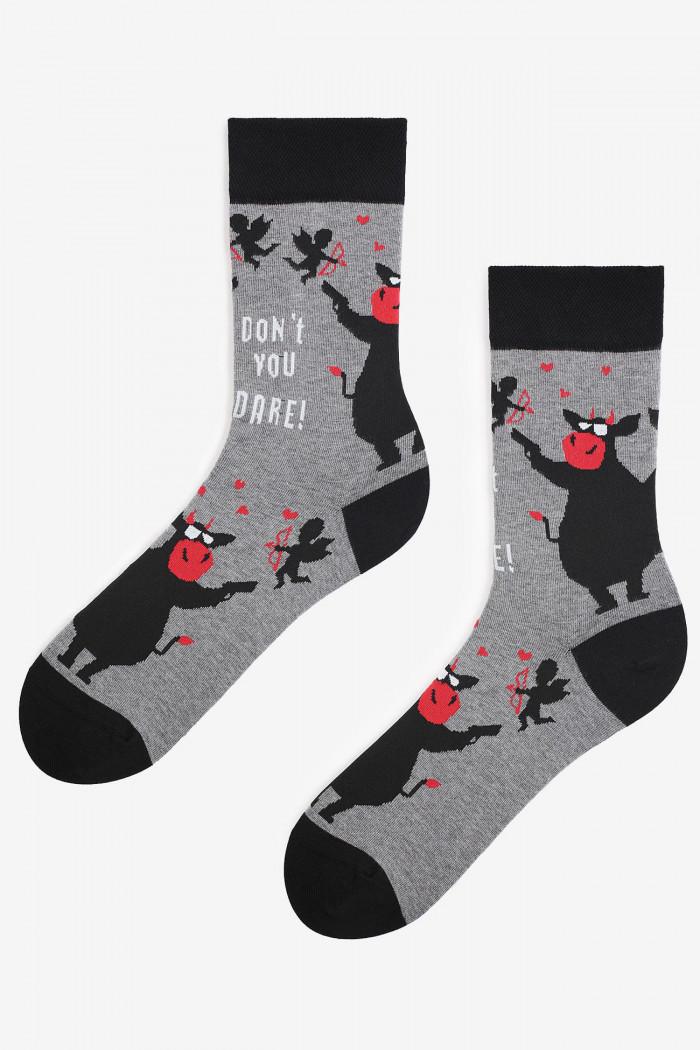 Шкарпетки чоловічі з малюнком MARILYN DON'T DARE