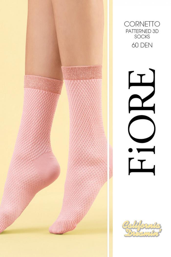 Носочки с люрексом Fiore CORNETTO 60den