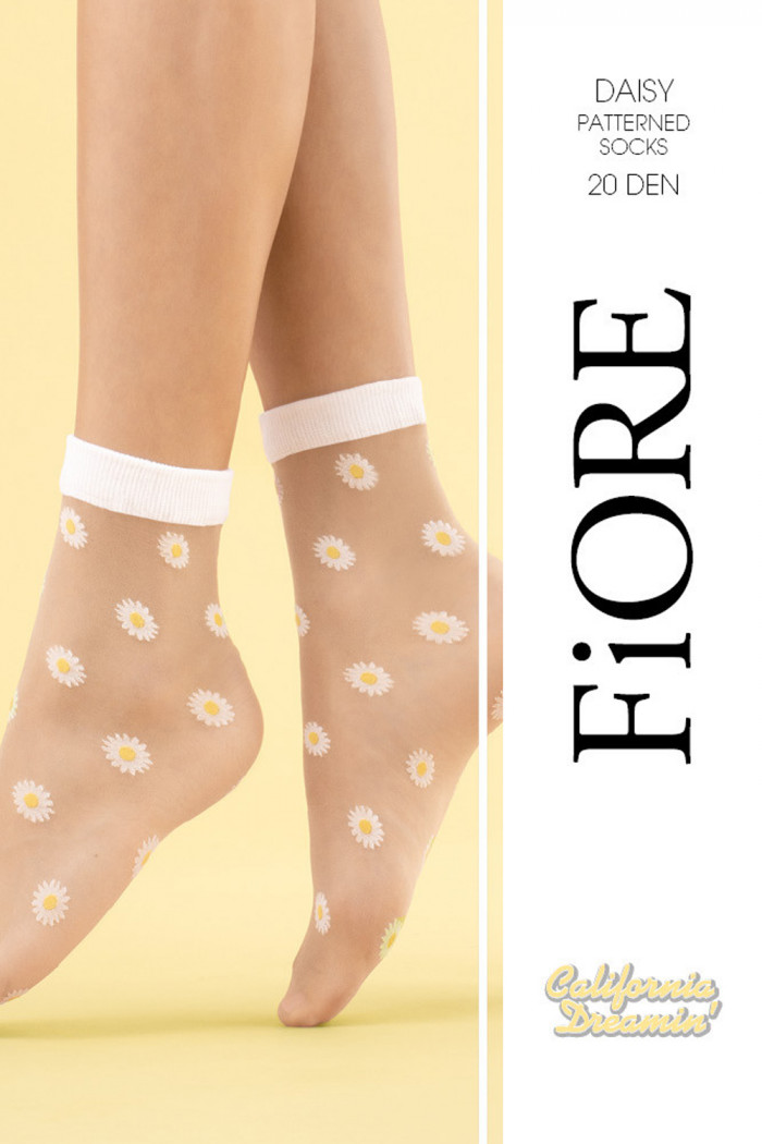 "Носочки с принтом ""Цветы"" Fiore DAISY 20d"