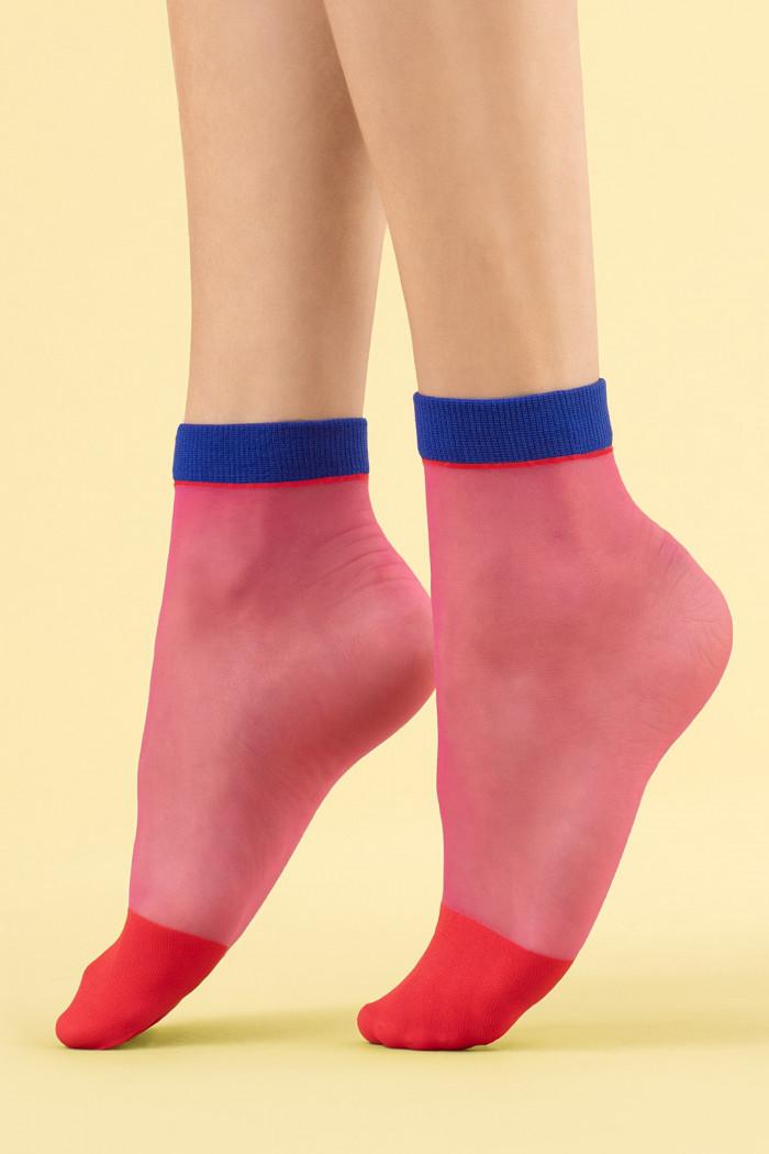 Прозрачные носочки Fiore SUNSET GLOW 8d
