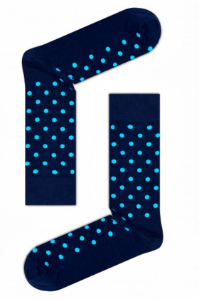 Носки хлопковые с принтом Claudio Conti Socks Navy