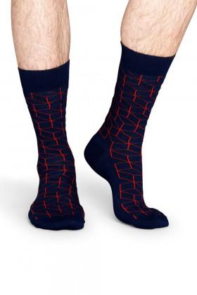 Шкарпетки бавовняні з принтом Claudio Conti Socks Optic