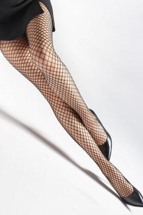 Колготки крупная сетка Marilyn CHARLY U12