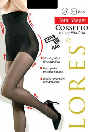 Колготки корректирующие LORES Corsetto Vita Alta 20-140D
