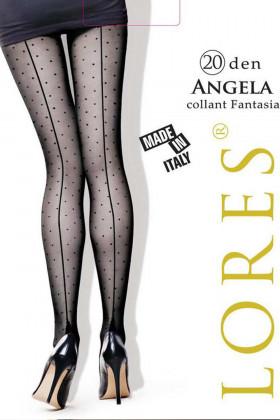 Колготки в горошек Lores Angela 20d