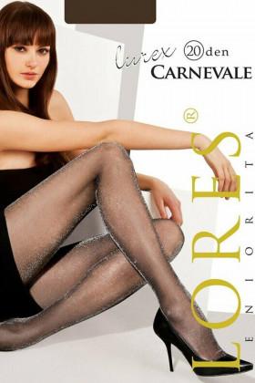 Колготки з люрексом LORES Carnevale Lurex 20Den