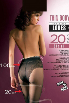 Колготки моделирующие LORES Thin Body Bikini 20den