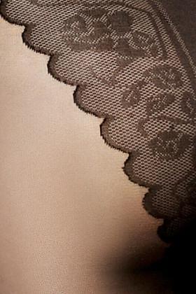 Колготки з мереживними трусиками LORES Chantal Bikini 40den