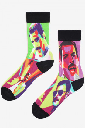 """Носки унисекс с рисунком """"Freddie"""" LEGS SOCKS LASER PRINT 50"""
