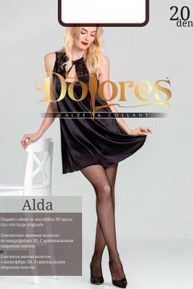Колготки прозорі без шортиків Dolores Alda 20 Den