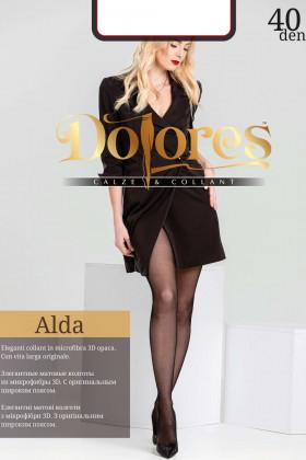 Колготки прозорі без шортиків Dolores Alda 40 Den