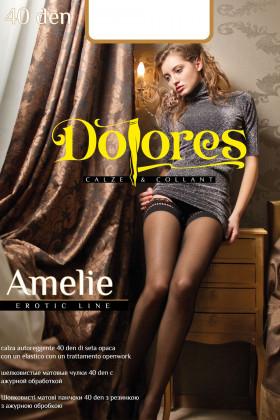 Панчохи з оригінальною коронкою Dolores Amelie 40Den