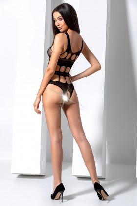 Боді-сітка еротичне Passion BS 083 Black