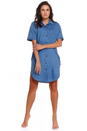 Платье-рубашка джинсовое Doctor Nap TM.4226
