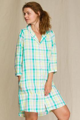 Жіноче плаття-сорочка в клітку Key LND 453 A21