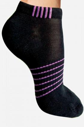 Шкарпетки бавовняні в смужку Lores Play Calzino