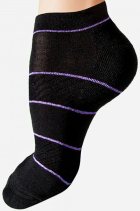 Шкарпетки бавовняні в смужку Lores Run Calzino