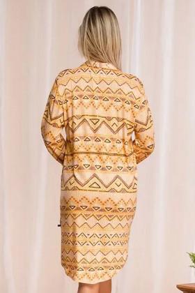 Жіноче плаття-сорочка з принтом Key LND 960 A21