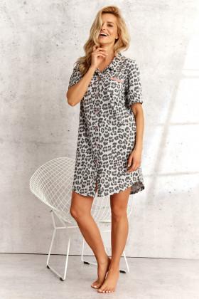Платье-рубашка с принтом Taro 2139 Dalia Panterka