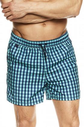 Чоловічі пляжні шорти в клітку Henderson 36847 Kite