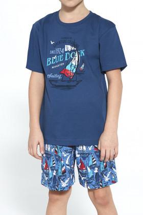 Комплект домашний/пижама для мальчика CORNETTE 789/96 Blue dock