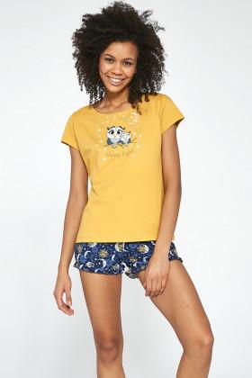Комплект жіночий з шортами CORNETTE 520/195 Owls