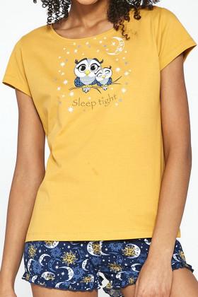 Комплект женский с шортами CORNETTE 520/195 Owls
