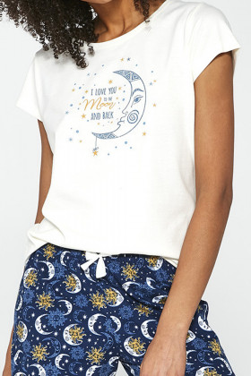 Комплект для дома с шортами и брюками CORNETTE 388/203 Moon 3-Pack