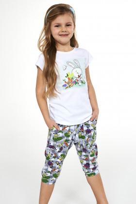 Комплект детский/пижама для девочки Cornette 487/84 Bunny