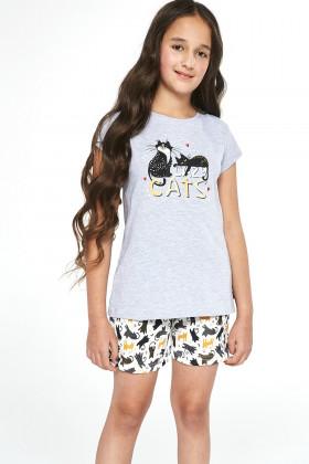 Комплект детский/пижама для девочки Cornette 788/87 Cats