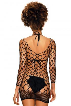 Платье-сетка Obsessive D606