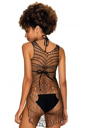 Платье-сетка Obsessive D607