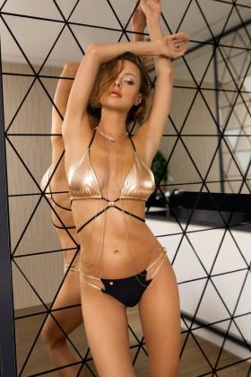 Купальник-бикини раздельный Obsessive Goldivia