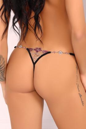 Трусики-стринг с интимным вырезом Livia Corsetti Ladome
