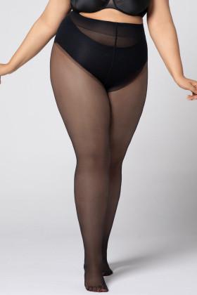 Колготки великого розміру Mona Hip-Notic Bikini 20 den