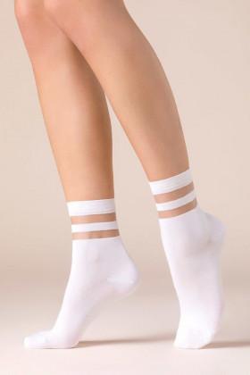 Шкарпетки зі смугастою резинкою Gabriella Cami