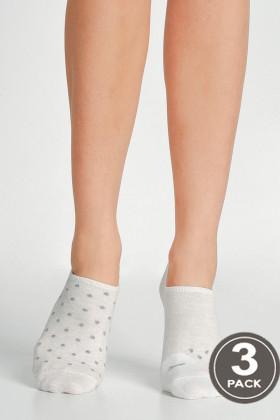 Носки низкие хлопковые LEGS SOCKS EXTRA LOW 79 (3 пары)
