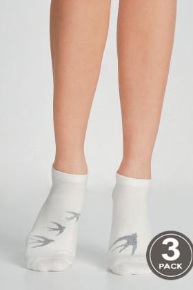 Носки хлопковые короткие LEGS SOCKS LOW 96 (3 пары)