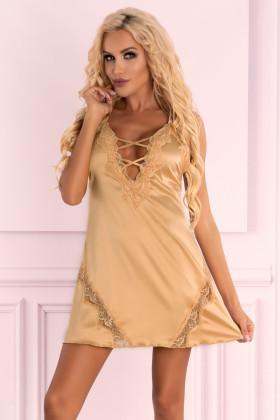 Сорочка атласная с трусиками Livia Corsetti Landim
