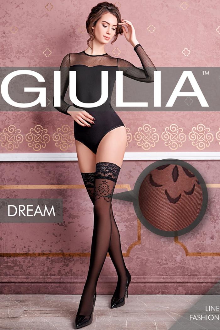 Чулки с узором GIULIA Dream 40 model 2