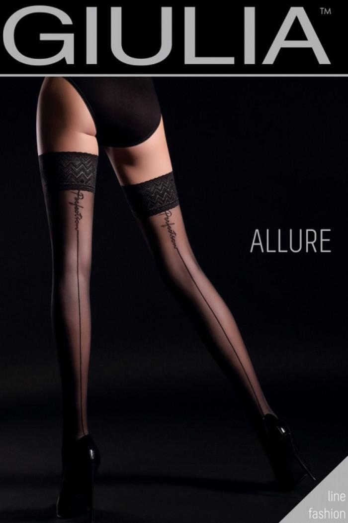 Чулки со стрелкой GIULIA Allure 20 model 3