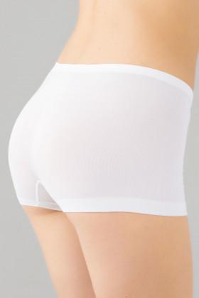 Бесшовные трусики-шорты Giulia Boxer briefs White