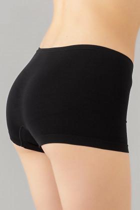 Трусики-шорты бесшовные Giulia Boxer briefs Black