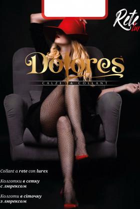 Колготки в сетку с люрексом Dolores Rete Lurex