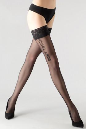 Панчохи з написом GIULIA Vogue 20 model 2