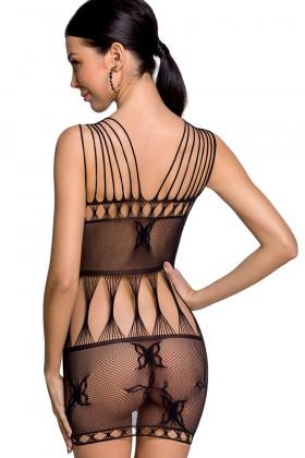 Эротическое платье-сетка Passion BS 090