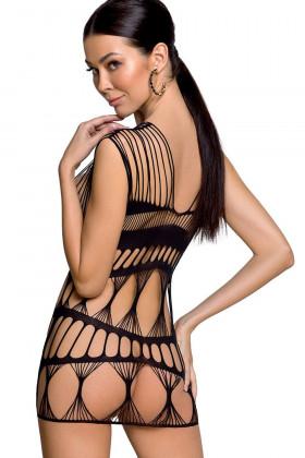 Эротическое платье-сетка Passion BS 089