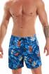 Мужские пляжные шорты с ярким принтом Jolidon B601I BI