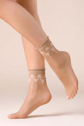 Шкарпетки жіночі з принтом Gabriella Bloom