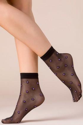 Шкарпетки жіночі з принтом Зірки Gabriella Stars Color
